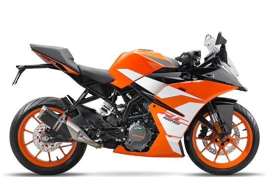 KTM RC 125 - Compact Racer